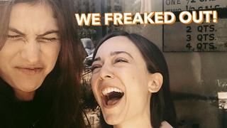 Reacting to Scary Movies   Alexandra Daddario
