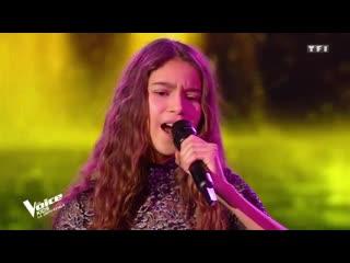 Шоу Голос Kids Франция 2020 - Наоми Я никогда не полюблю снова— The Voice France - Naomi - I'll Never Love Again