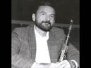 Battaglia's Quand la Montagne s'eveille for Clarinet and Guitar, Stephen Clark, Clarinetist