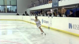 2015 ISU Junior Grand Prix  - Logroño Ladies Free Skate Alisa FEDICHKINA RUS