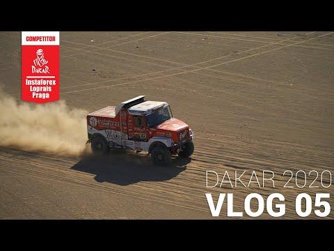 InstaForex Loprais Team DAKAR 2020 Stage 1 VLOG 05