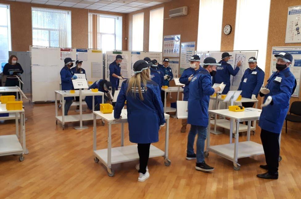 Работники таганрогского предприятия «Прибой» прошли стажировку на «Фабрике процессов»
