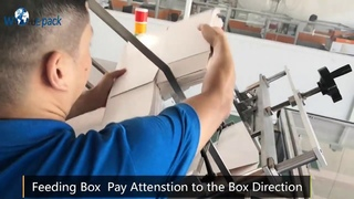 How to Operate the Box Packing Machine for Face Mask KN95 FFP2 3 Ply