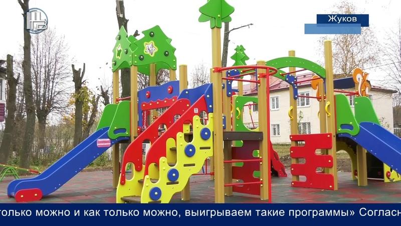 Детская площадка ул Калужская г Жуков