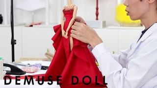 The making of DeMuse Doll Christmas 2020