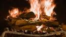 Огонь в камине,под красивую музыку/Заставка на Телевизор/