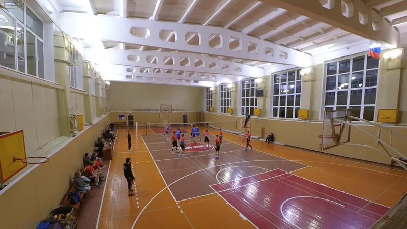 Volley Full Game Авангард vs НГУ 3:0 Первенство Бердска 2019 2020