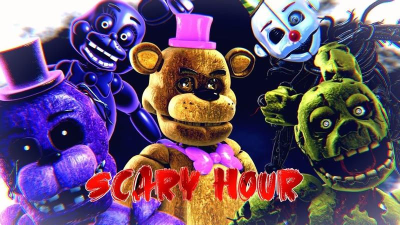 FNAF C4D Scary Hour By Omar Varela EPILEPSY WARNING