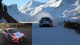 Best of Hot Moments Rallyes Monte Carlo 2020 Tests Day Ogier Loeb Neuville by Ouhla lui