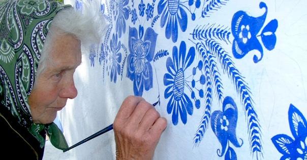 Агнес Каспаркова, 91 летняя старушка, пример усидчивости и стремления к прекрасному в любом возрасте. Крошечная чешская деревушка Лука (Loua), что на юго-востоке страны в историческом регионе