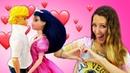 Marinette se prepara para una cita con Adrien. Muñecas LadyBug y Barbie. Vídeos para niñas