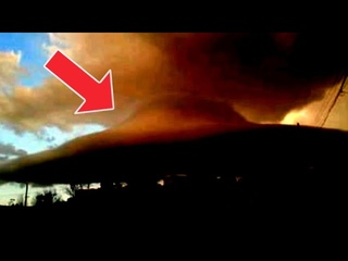 Strange Flying object caught over Colorado and huge spaceship shaped UFO seen