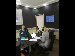Анна Суркова продолжает разговор с главой регионального МЧС Валентином Нелюбовым