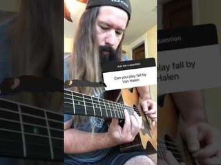 """""""Fall"""" by Van Halen"""