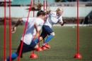 Давно не радовали вас фотографиями с тренировок - пора исправляться 🌟  #жфкмагнолия #футболкубани #ж