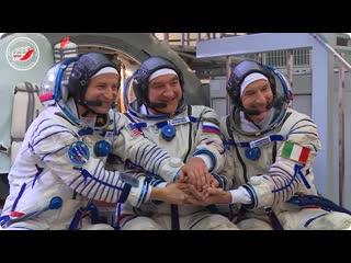 Комплексные экзамены экипажей МКС-60/61  27 июня 2019 г.