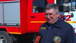 В пожарной части №52 прибыло! Новый автомобиль на базе ГАЗ уже показал себя при тушении пожаров