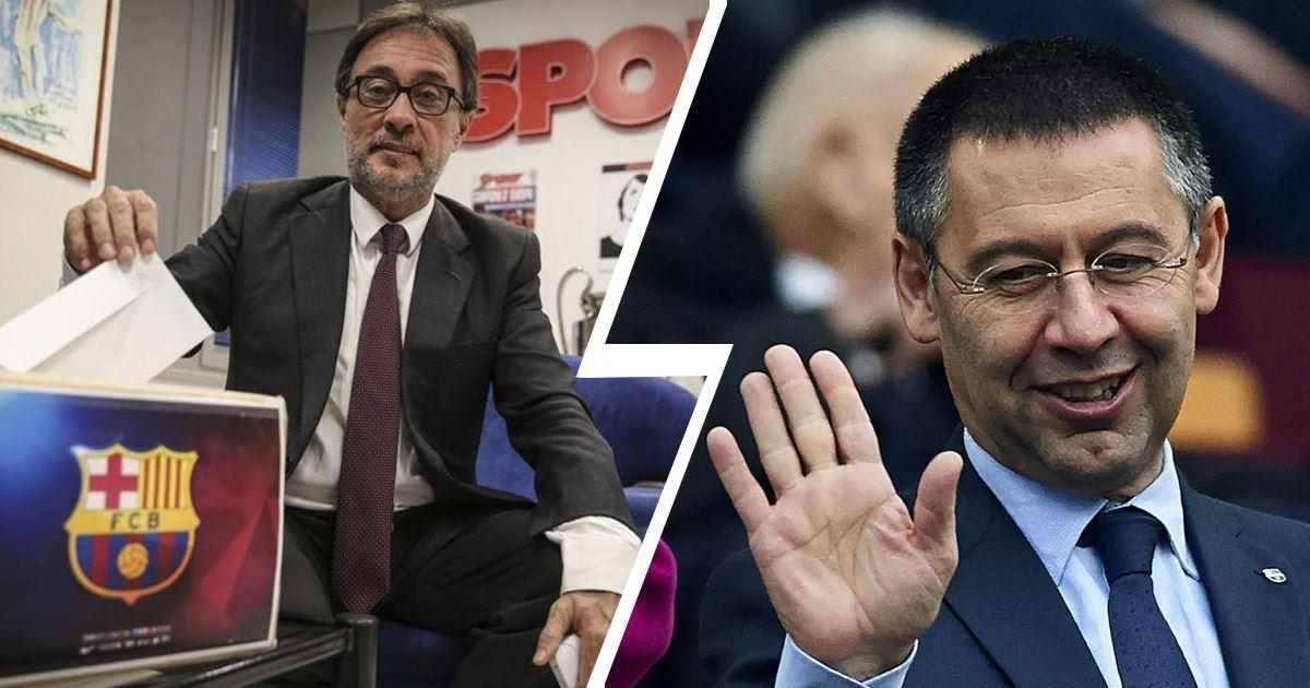 Жозеп Бартомеу. Голосование об отставке с поста президента ФК Барселона