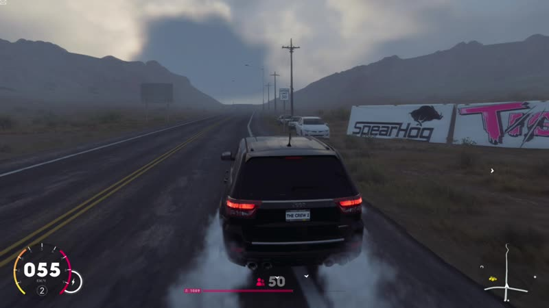 The Crew 2 Jeep Grand Cherokee SRT8 2012 6 4 Chip 770HP Ultra Settings USA State New Mexico Open World 1080р60