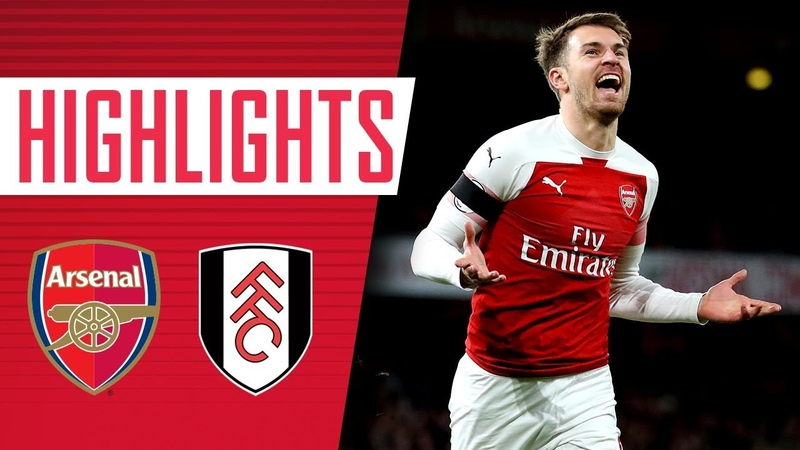 Back to winning ways Arsenal 4 1 Fulham Goals and highlights